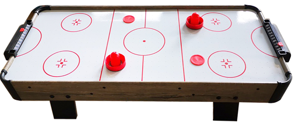 AC0011: Airhockey TopTable Topper Ice Wood  #2
