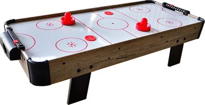 Airhockey TopTable Topper Ice Wood