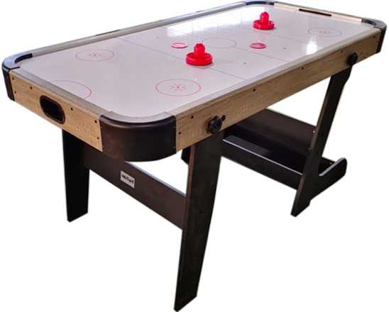 AC0028: Airhockey TopTable Typhoon Fold-Up Wood #1