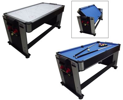 Airhockey/Pooltafel TopTable Twist 2-1 Junior