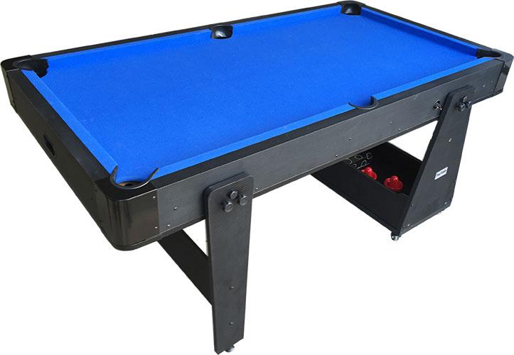 AC0035-BW: Airhockey/Pooltafel TopTable Twist 2-1 Max Mobile, Bleu-White  #2