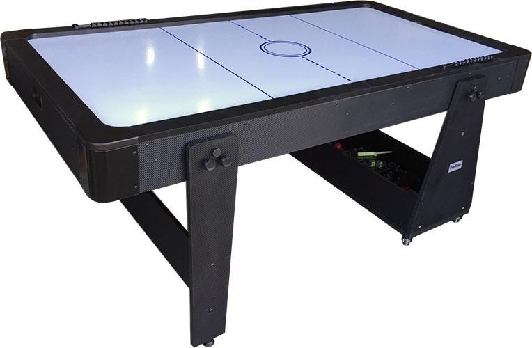 AC0035-BW: Airhockey/Pooltafel TopTable Twist 2-1 Max Mobile, Bleu-White  #3