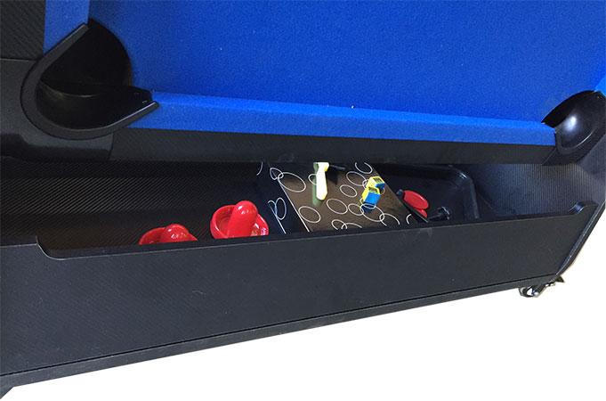 AC0035-BW: Airhockey/Pooltafel TopTable Twist 2-1 Max Mobile, Bleu-White  #6