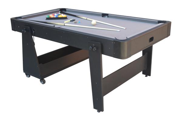 AC0035-GB: Airhockey/Pooltafel TopTable Twist 2-1 Max Mobile, Grey-Black  #3