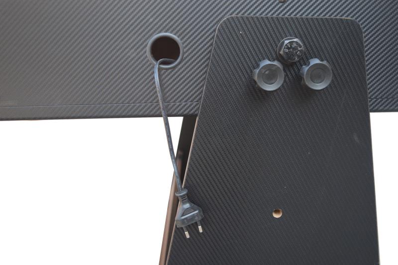 AC0035-GB: Airhockey/Pooltafel TopTable Twist 2-1 Max Mobile, Grey-Black  #5