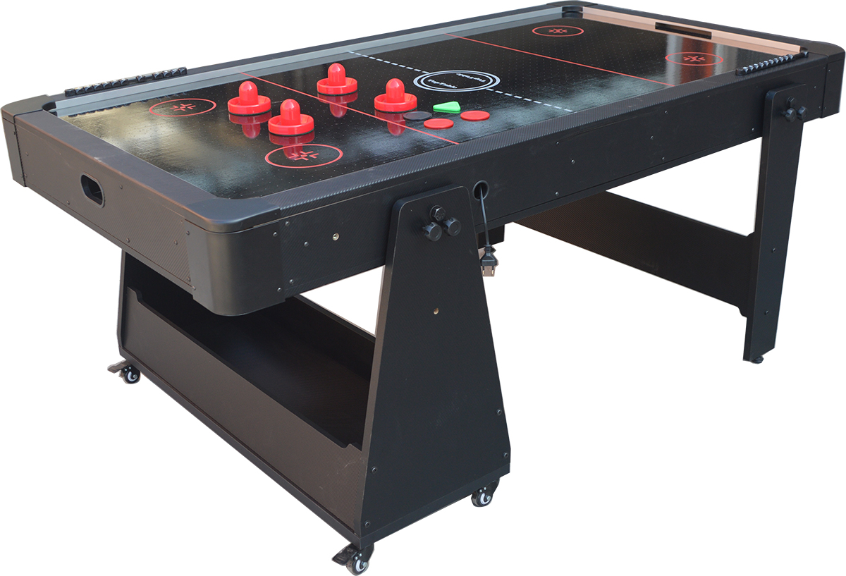 AC0035-GB: Airhockey/Pooltafel TopTable Twist 2-1 Max Mobile, Grey-Black  #2
