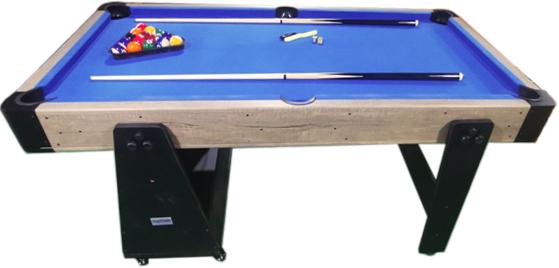 AC0035-W: Airhockey/Pooltafel TopTable Twist 2-1 Max Mobile, Wood  #2