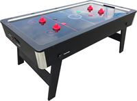 Airhockey TopTable Foldy-Carbon Black-Grey (inklapbaar) 6,5ft