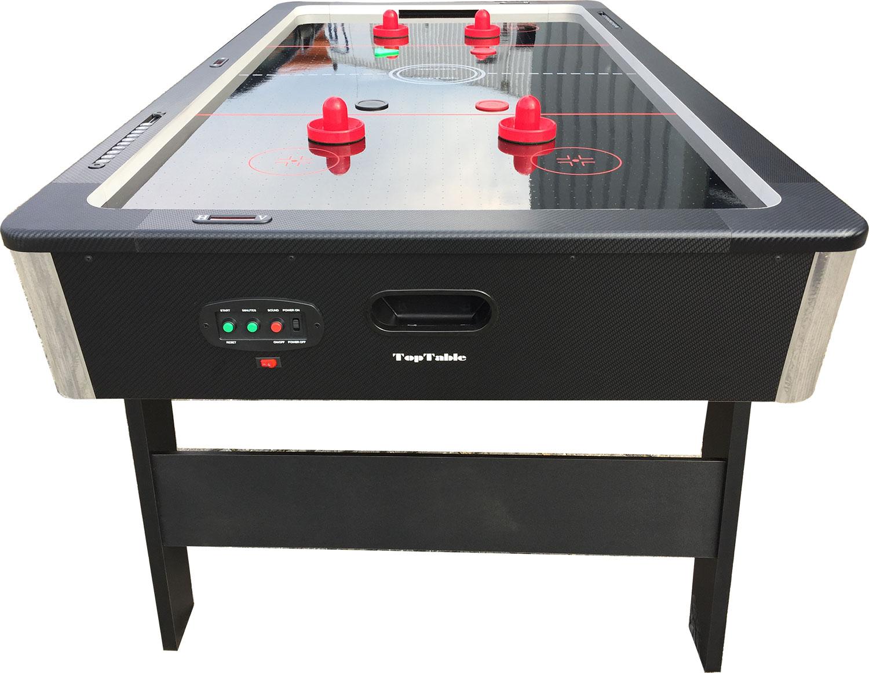 AC0055-BP: Airhockey TopTable Foldy-Carbon Black-Grey (inklapbaar) 6,5ft #2
