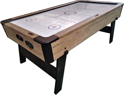 Airhockey TopTable Foldy Wood (inklapbaar) 6,5ft