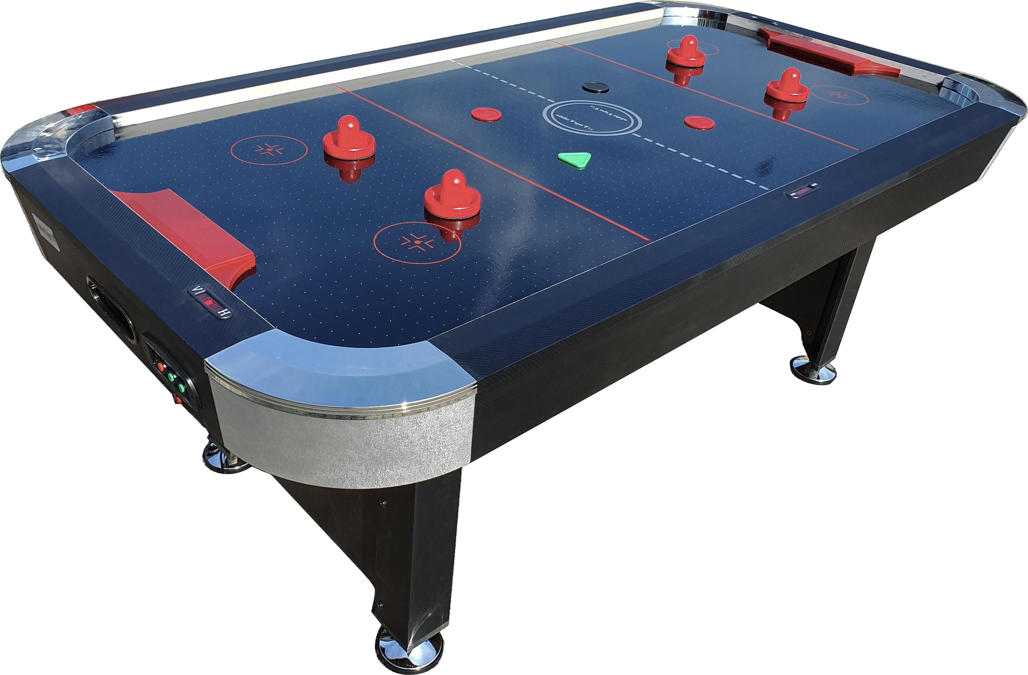 AC0057-BP: Airhockey TopTable Hurricane Black7ft #1