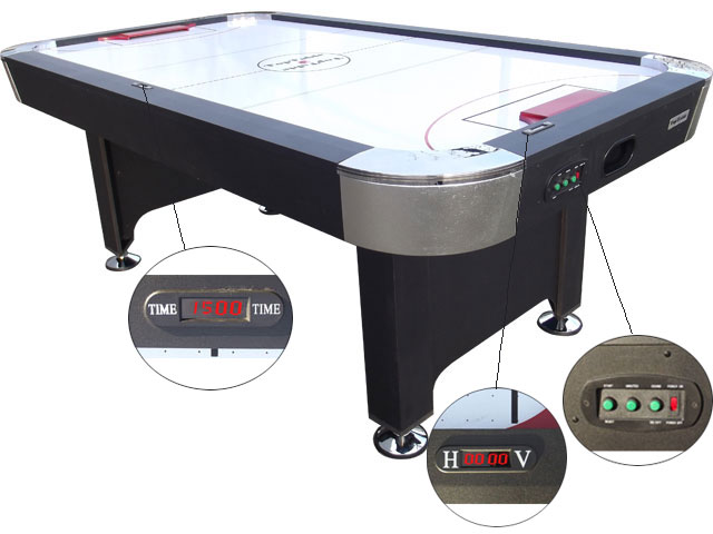 AC0057: Airhockey TopTable Hurricane 7ft
