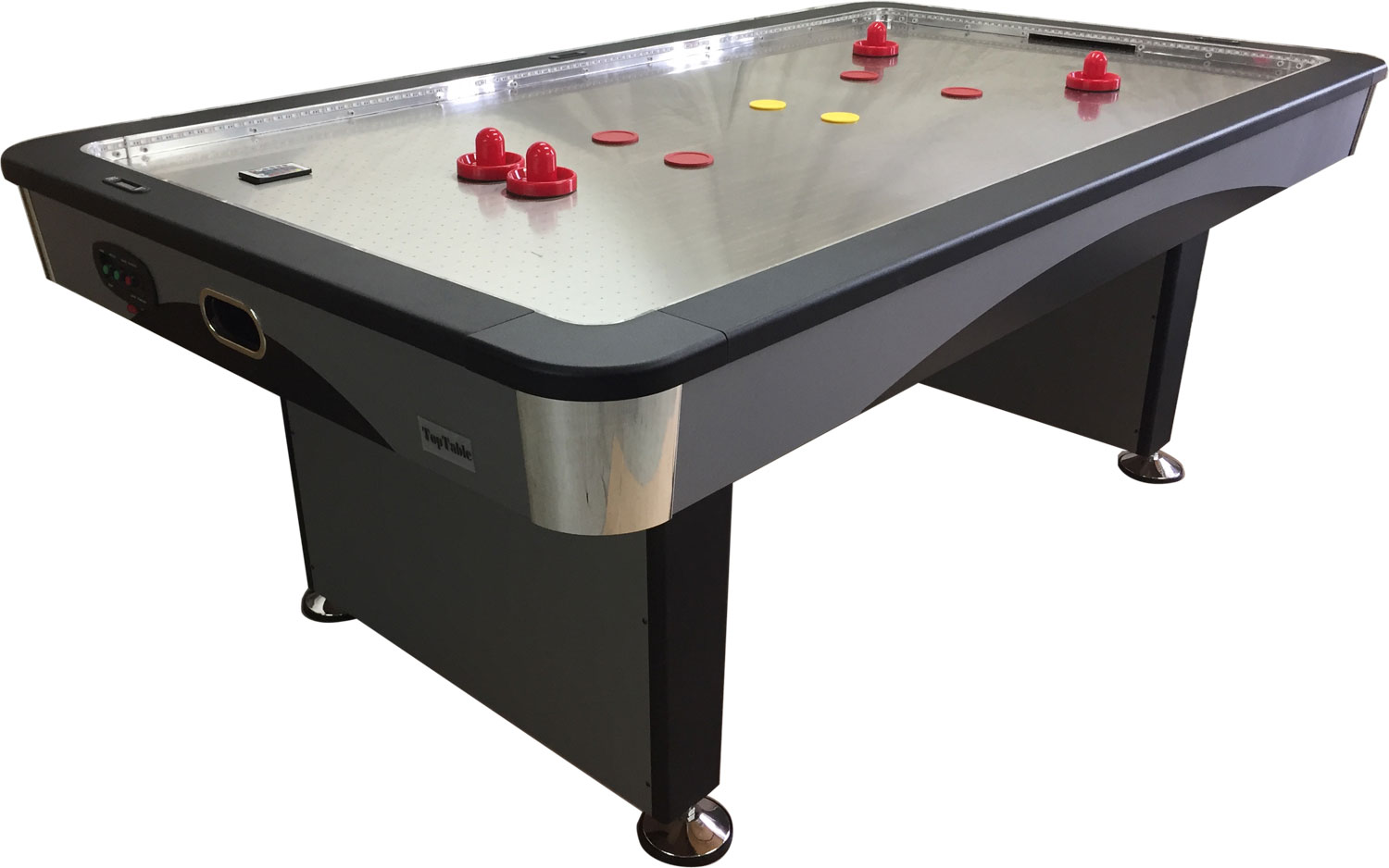 AC0059-ST: Airhockey TopTable Fast Flash Steel & Multi LED