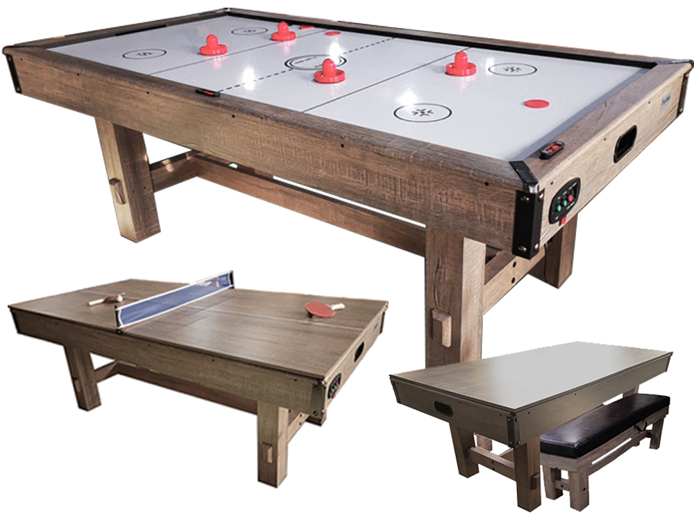 AC0063: Airhockey TopTable Dinning Timber w/tennis  #1