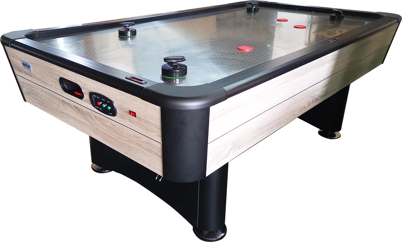 AC0065-WD: Airhockey TopTableTyphoon 7,5ft Pro Metal-line Wood  #1