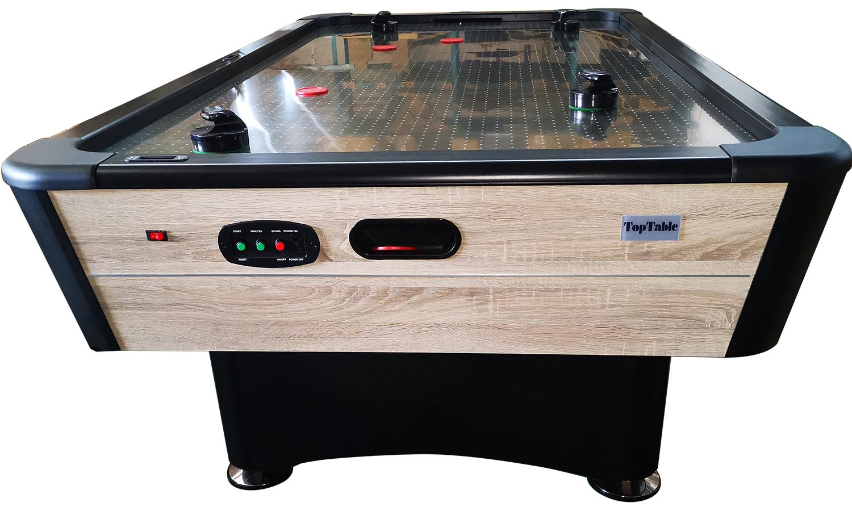 AC0065-WD: Airhockey TopTableTyphoon 7,5ft Pro Metal-line Wood  #2