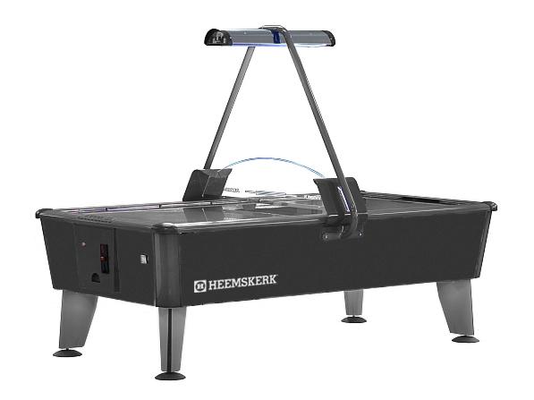 AC0307: Airhockey Heemskerk Airhockey table Parthenon Metal 8ft (incl. munt)  Gratis geleverd #1