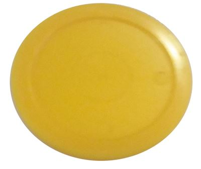 TopTable airhockey puck geel 63mm