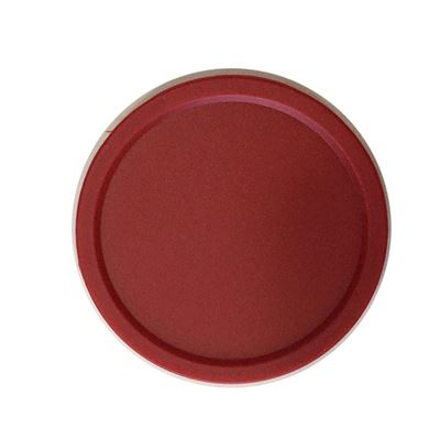 solid puck 50mm rood