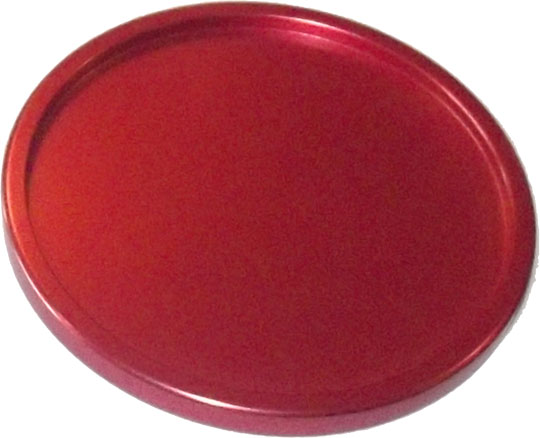 AC7138: Profesional Alu Puck Red #1