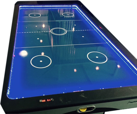 AC8000: LED protectie set t.b.v. Airhockey AC0059 TopTable Fast Flash LED 7ft+