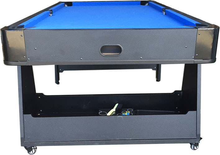 AD0035-W2 : Airhockey/Pooltafel TopTable Twist 2-1 Max, Wheels (2 kleine plekjes) #4