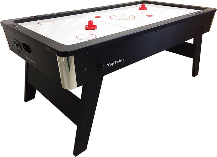 AO0055-SH: Showmodel, Airhockey TopTable Foldy-Carbon (inklapbaar) (enkel afhalen gemonteerd in Huissen) #1