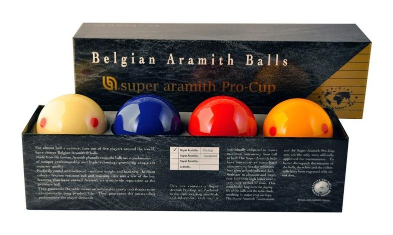 BA0432-P4: Super Aramith carambole ballen, 4-bal Pro Cup  #1