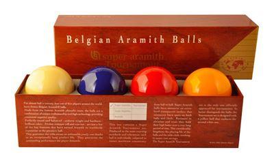Super Aramith carambole ballen, 4-bal tournament