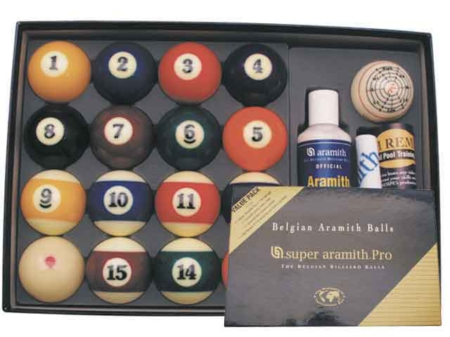 BA0462: poolballen Super Aramith Pro Valeu Pack 57,2mm #1