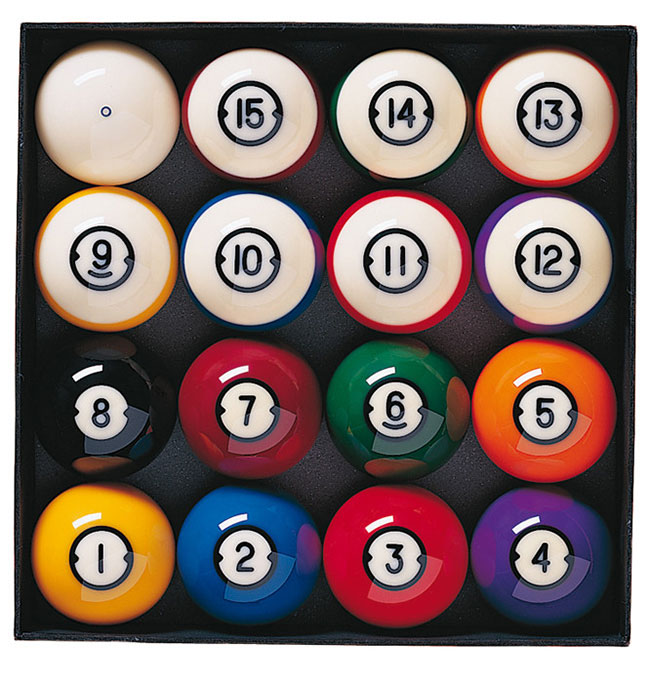 BA0468-BP: Poolballen Brunswick 57.2 mm #1