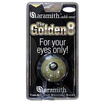 "Aramith ""Golden 8"" 57,2mm"