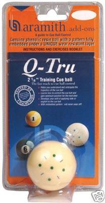 Aramith Q-tru trainingsbal 57,2mm