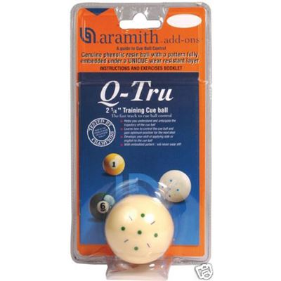 Aramith Q-tru trainingsbal 57,2mm