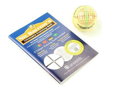 Ultimate snooker trainingsbal met boek