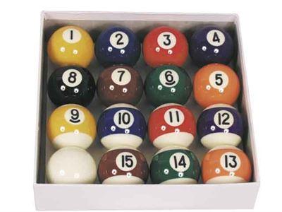 losse poolballen A-klasse 1-15