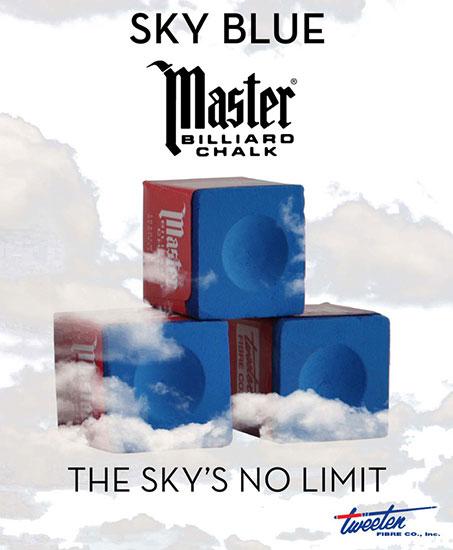 BA0502-PB: Master krijt Sky tournament Prestige Blue 12 st. #1