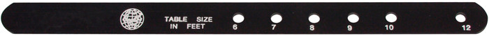 BA0545: Markeerlat zwart #1