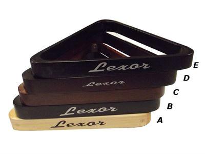 luxe houten Lexor Triangle 57,2mm
