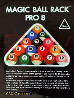 BA0582: Magiq ball rack Pro 8-ball #1