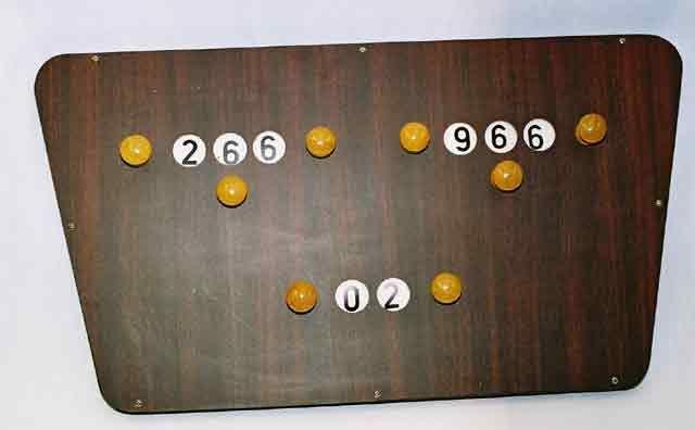 BA0764: score bord vlinder #1