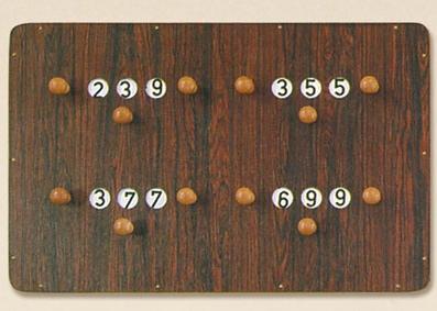 BA0768: score 4-personen #1