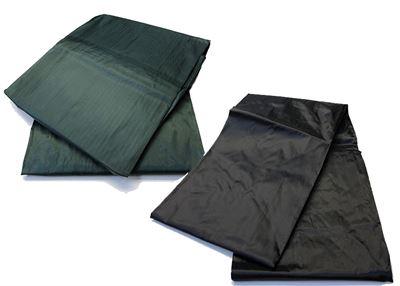 Poolzeil - nylon + elastiek  groen/zwart 7ft/8ft/9ft