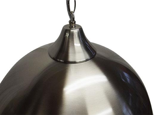 BA0831-1G: verlichting armatuur Lexor Trend Solo groot, brushed steel #2
