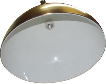 BA0831-1G: verlichting armatuur Lexor Trend Solo groot, brushed steel #4