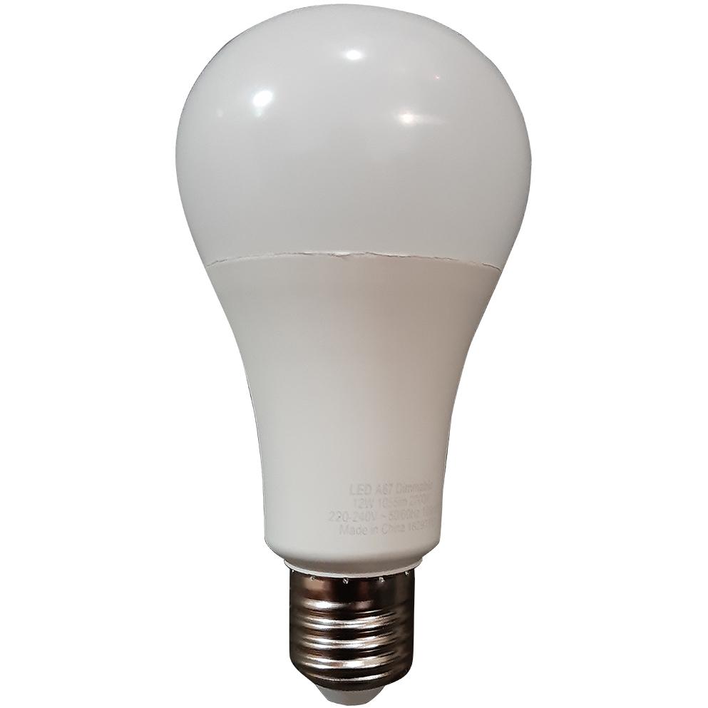BA0847-ES: Led Energy Smart lamp E27 12watt/1055lm Dimbaar #1