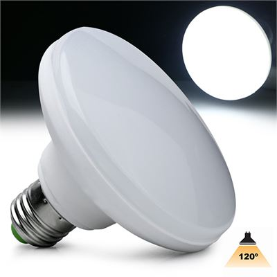 LED Ufo 18watt/1800Lumen warm-white, cool-white of daylight