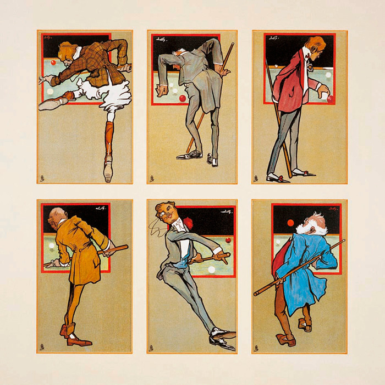 BA0879: Poster Vintage Magnifique #1