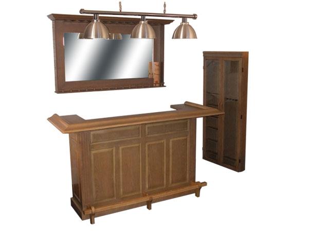 BM0192-CO: Lexor Bar meubel Castle Oak #1