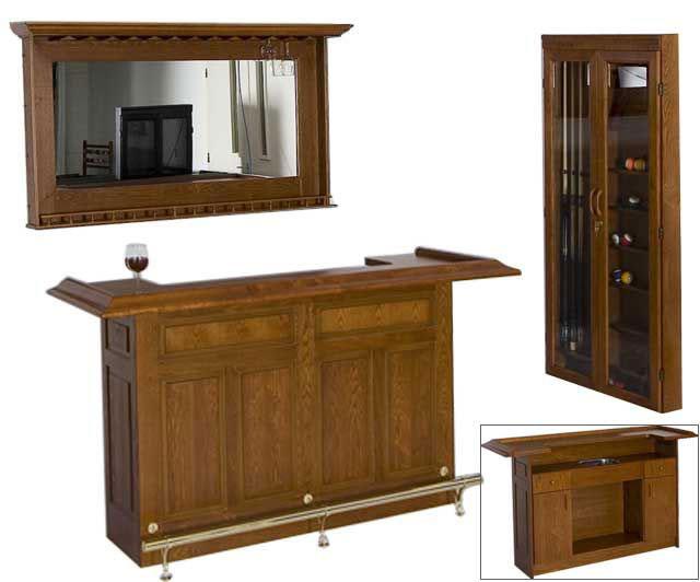 BM0192-WA: Lexor Bar meubel walnut #1